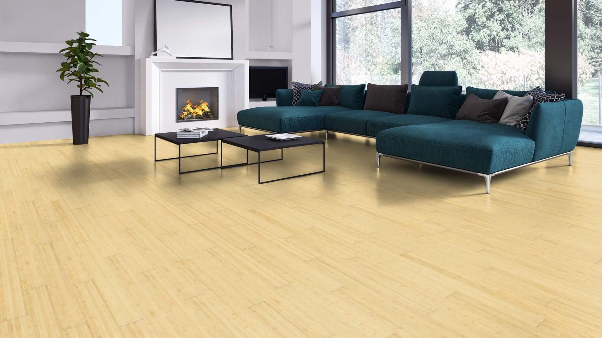 bambuko vidaus grindys